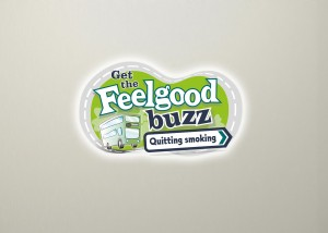 Get the feel good buzz when you quit smoking logo