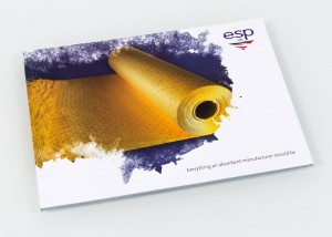 Front cover of ESP brochure