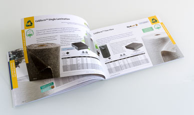 Evolution Sorbent Products brochure spread