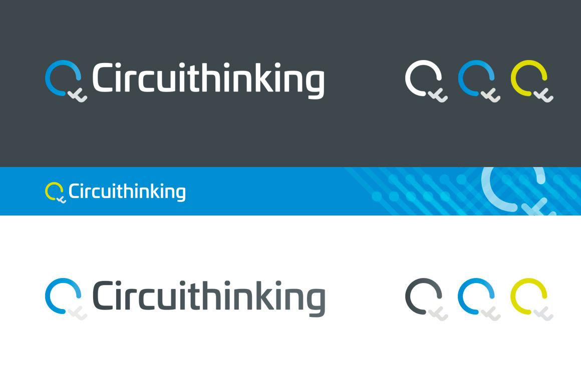 Circuithinking logo designs
